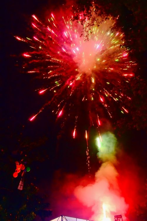 fireworks party hanabi