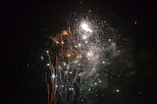 fireworks chinese new year celebration