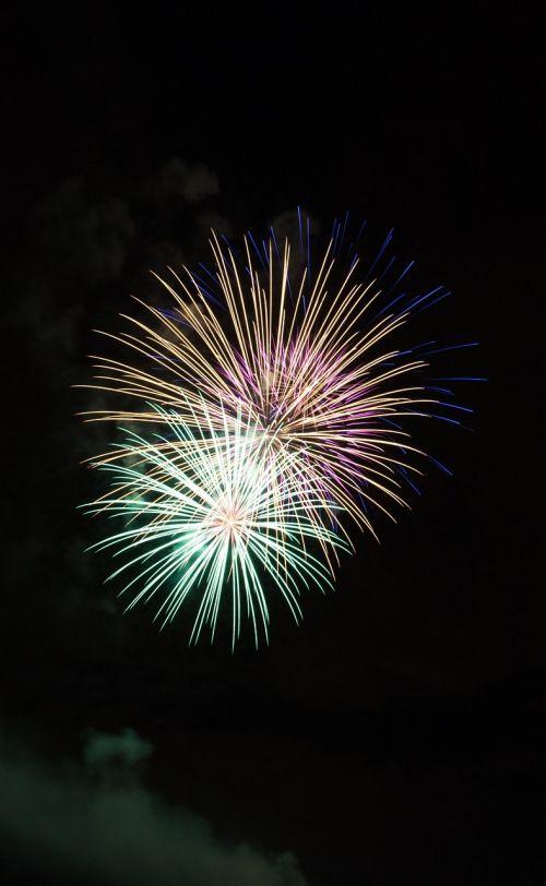 fireworks wishes new year