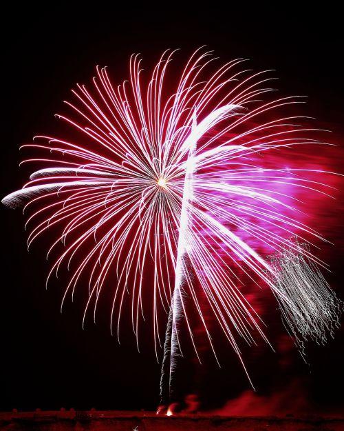 fireworks dark party