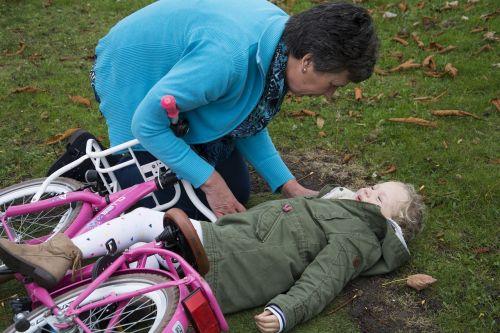 first aid children child