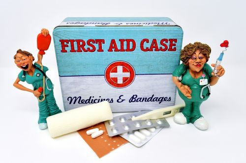 first aid supply nurse