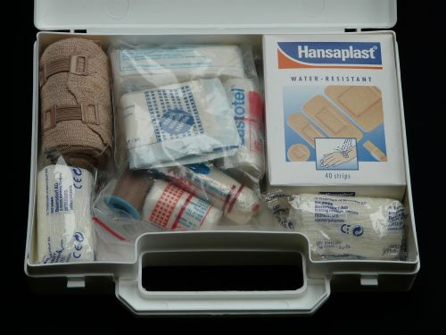 first aid kit help association case