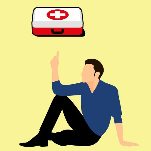 first aid kit with first aid training cpr