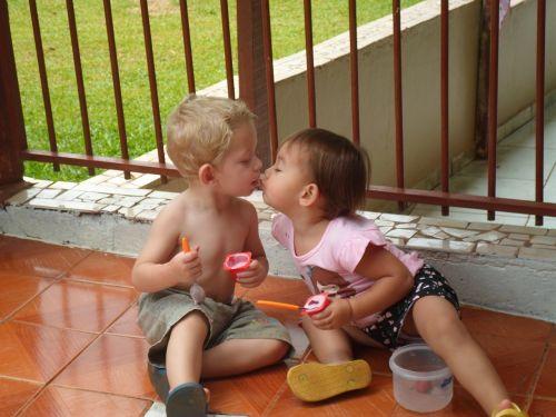 first kiss angel innocent