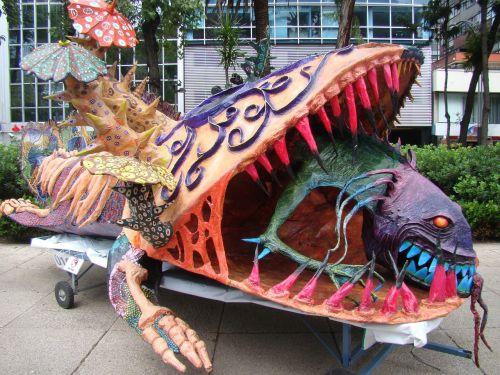 fish alebrije art