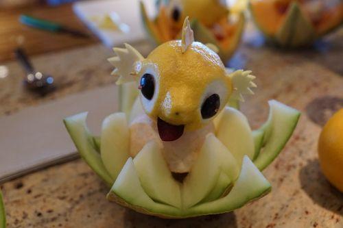 fish lemon figure
