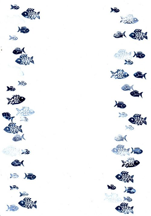 fish stamp water
