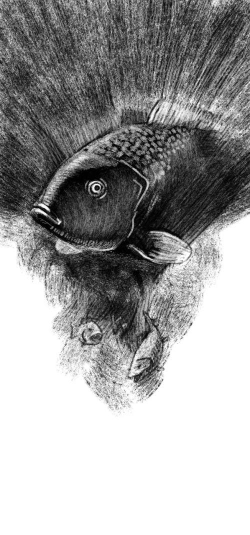 fish fishing figure