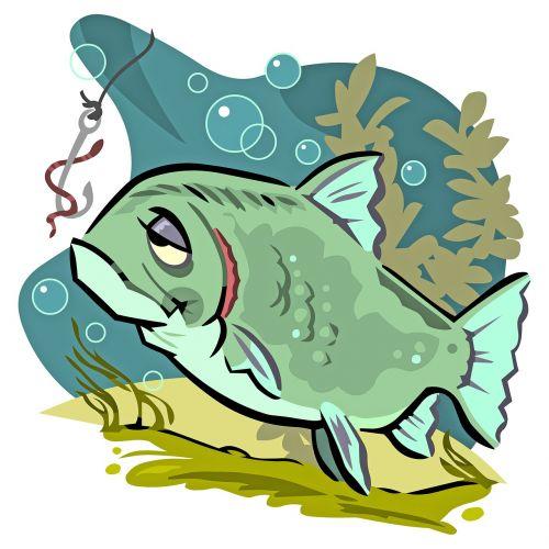fish hook worm