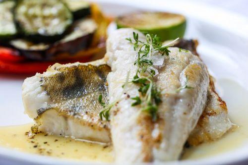 fish food vegetables
