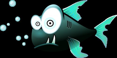 fish funny cartoon