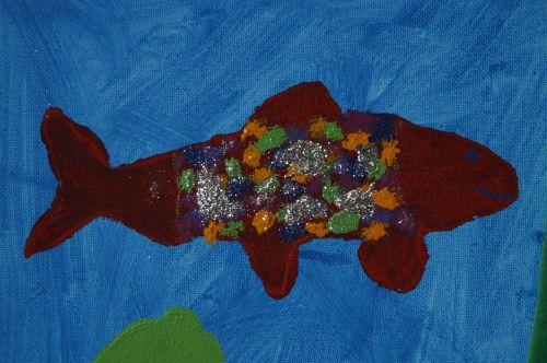 fish drawing image