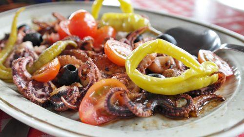fish antipasti grilled