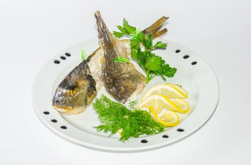 fish fried meat