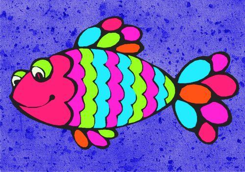 fish cartoon drawing