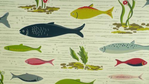 Fish Background Pattern