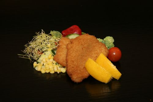 fish fillet breaded fried
