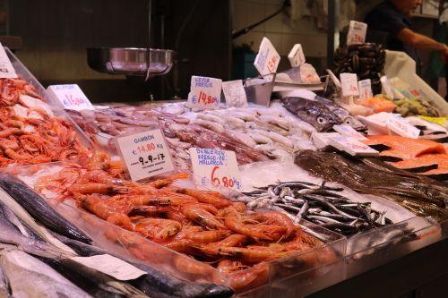 fish market fish stand market hall