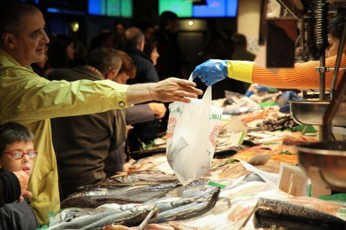 žuvų Parduotuvė,pirkti,jūros gėrybės,žuvis,vadinami rostmanai
