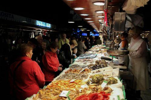 žuvų Parduotuvė,jūros gėrybės,žuvis,krevetės,vadinami rostmanai