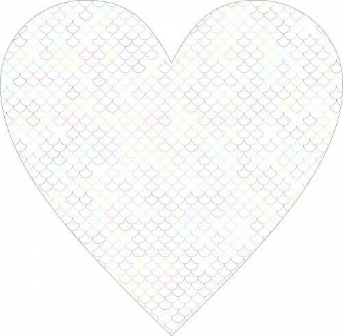 Fish Scale Heart