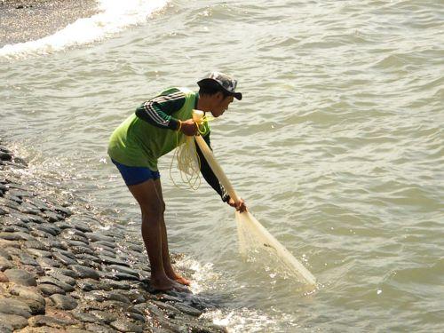 fisher fisherman fishing