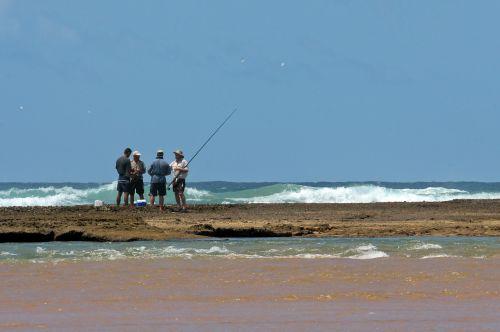 fisher sea angling fishermen
