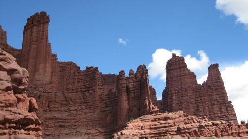 fisher towers landscape sand stone