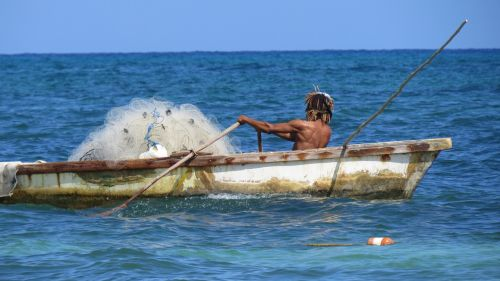 fisherman fishing fishing net