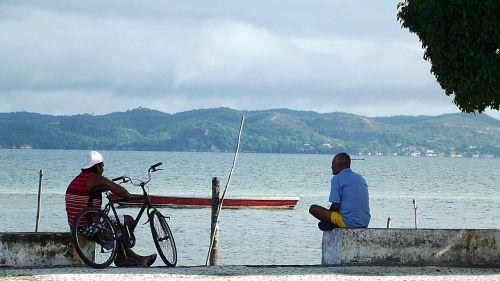 fishermen boat man