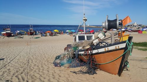 fishermen beach punta del diablo
