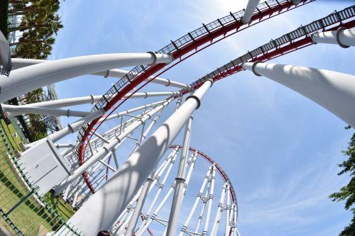 fisheye rollercoaster wide