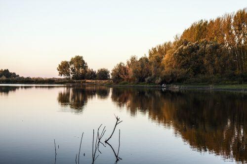 fishing river body of water