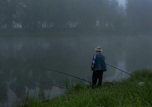 fishing morning sorrow