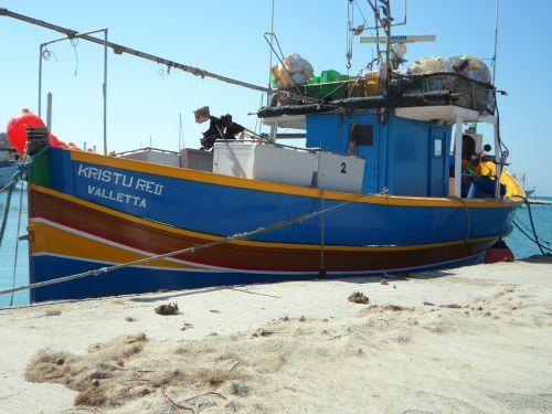 fishing port malta