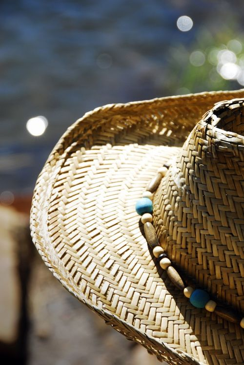 fishing summer straw hat