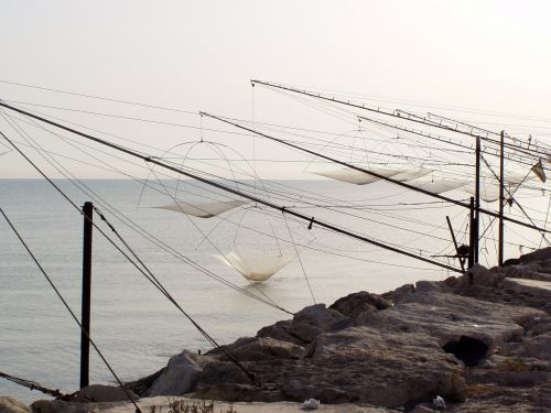 fishing rocker arm sea