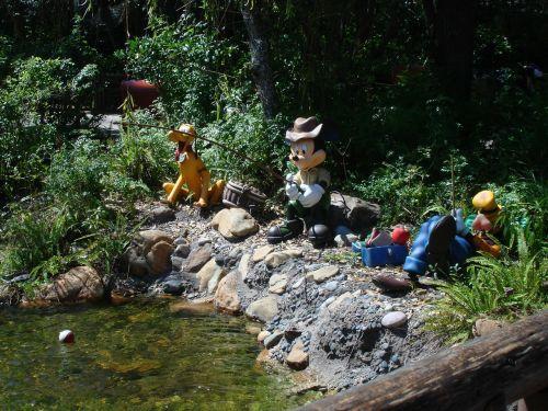 fishing disney world mickey