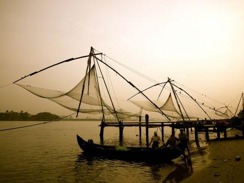 fishing chinese fishing nets