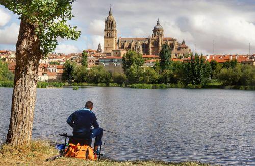 fishing cathedral salamanca