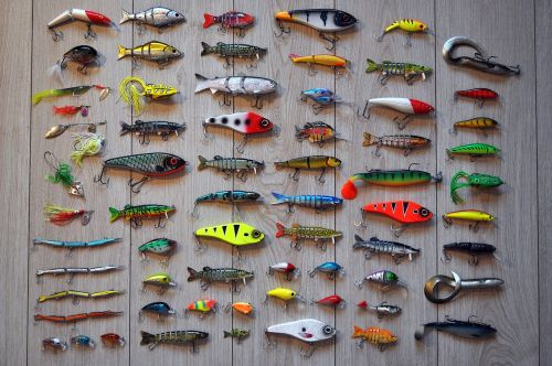 fishing rod hooks