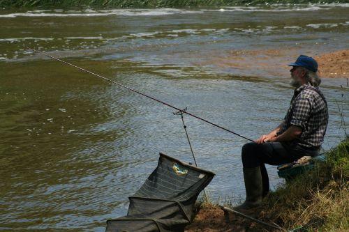 fishing fisherman river