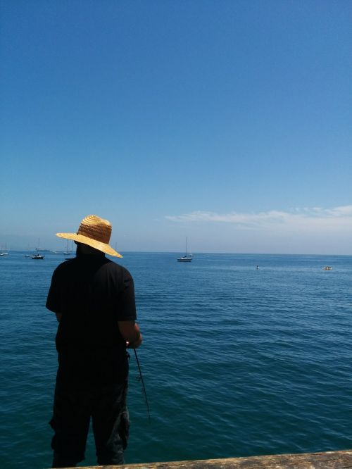 fishing fisherman water
