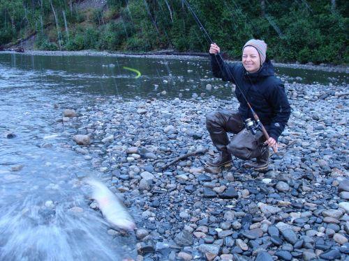 fishing alaska salmon
