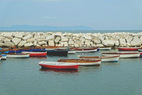 fishing boats wave