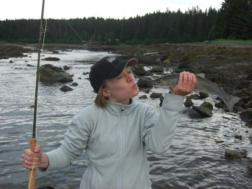fishing trout catch