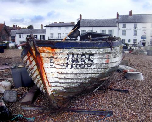 fishing boat aldeburgh coast
