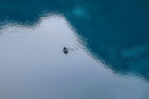 fishing boat fish lake