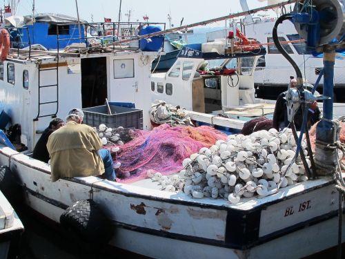 fishing boat boat fishing port
